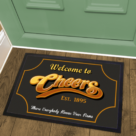 Cheers Bar Welcome Mat Doormat